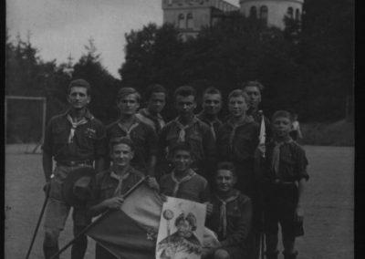 Українські студенти-пластуни в Празі