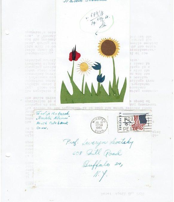 Привіти для Начального Пластуна Сірого Лева з літніх таборів, США, 1958-1960