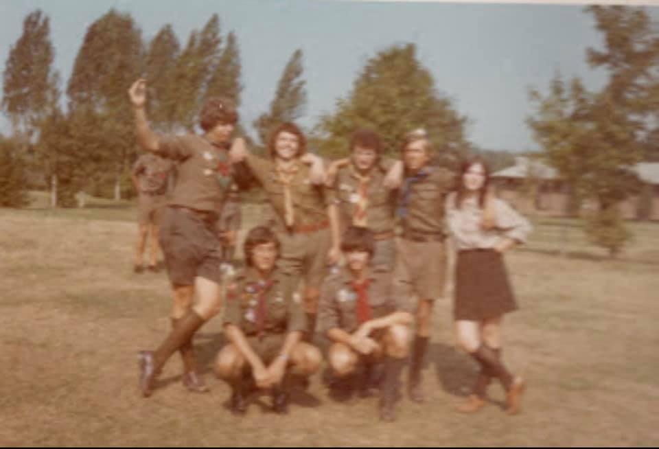 """Мішаний Пластовий Табір """"Стежки Культури"""" Перші Стежі, 1973, Grafton, Канада"""